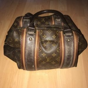 Authentic Louis Vuitton Monogram Mirage Duffle Han